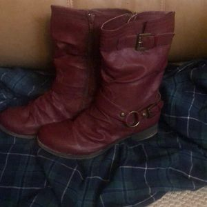 Shoes - Burgundy boots